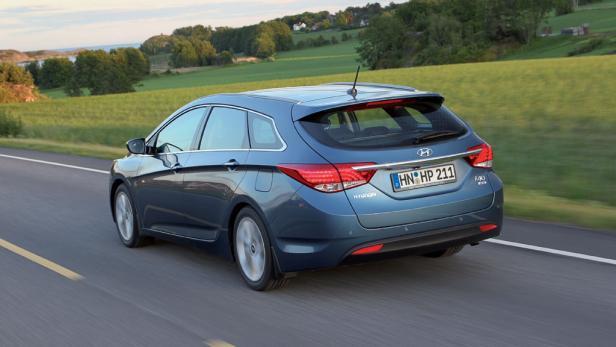Hyundai unterwegs: Langer Radstand, komfortable Federung.