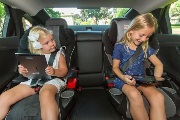 WIFI-Hotspot im Auto.