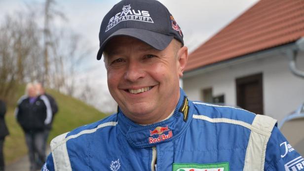 R5-Chauffeur 2015: Raimund Baumschlager.
