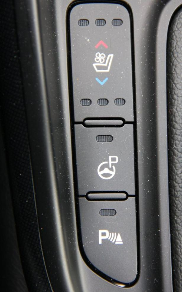 Im Active Pro gibt's sogar beheiz- und belüftbare Sitze.