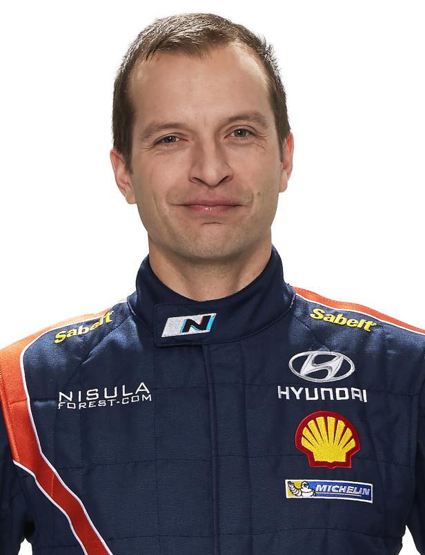 Nr.2 im Team: Der Finne Juho Hanninen.