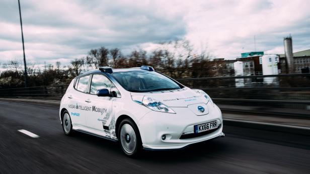 Nissan Autonomous Drive Demonstration Event 27th …