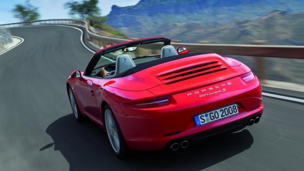 Porsche 911 Carrera Cabriolet: Europa-Premiere in Wien.