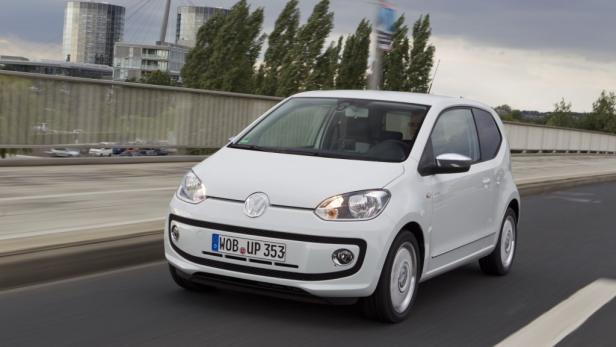 Das neue Stadtauto VW up!, das in Bratislava gefertigt wird.