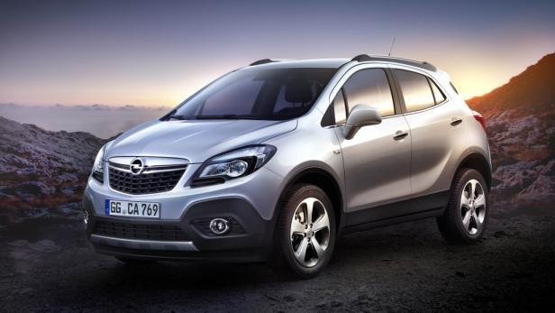 Der Opel Mokka für Europa.