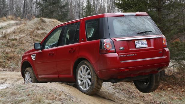 Im Gelände ist der Land Rover über jeden Zweifel erhaben.