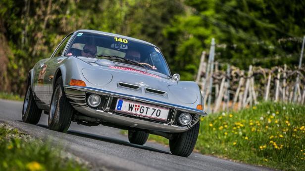 oldtimer suedsteiermark classic 2016 Opel GT…