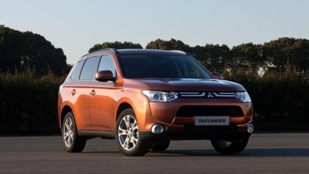 Der neue Mitsubishi Outlander kommt im Herbst.