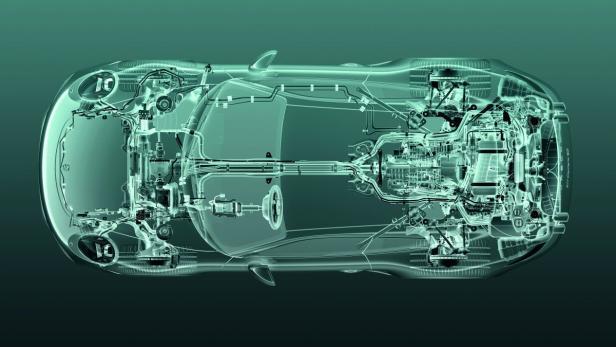 Allradantrieb mit Lamellenkupplung im Cayenne S Diesel