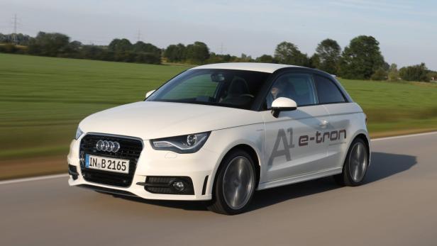 Nur 1l/100 km: Audi A1 E-Tron mit einem Plug-in-Hybridantrieb der AVL.