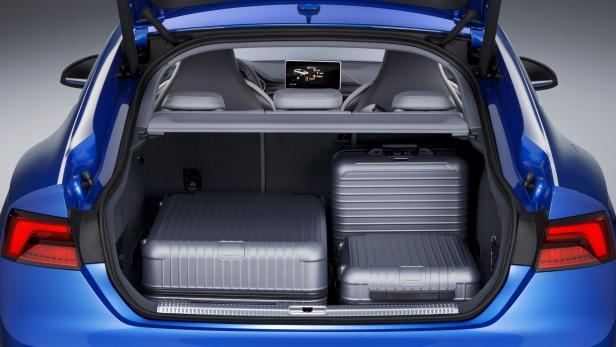 Kofferraum im S5 Sportback