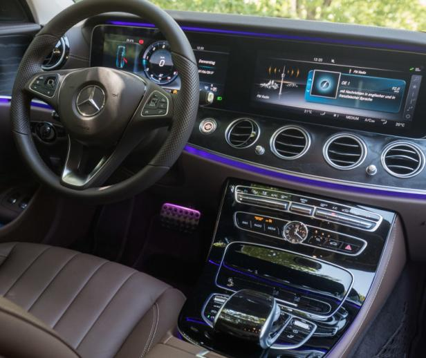 Mercedes Testfahrt
