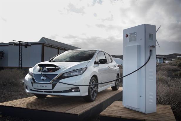 Nissan Leaf Modelljahr 2018