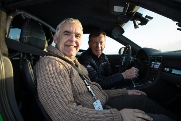 Der Motor-KURIER unterwegs mit Walter Röhrl