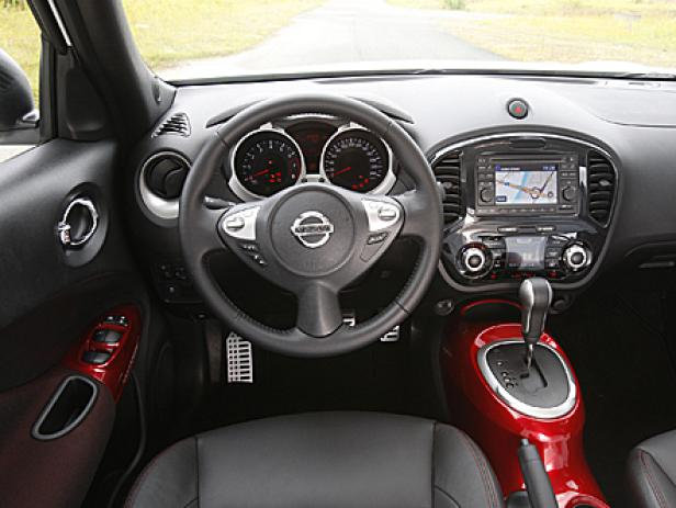 Nissan Juke: Markantes, sportlich inspiriertes Design vorne und hinten.