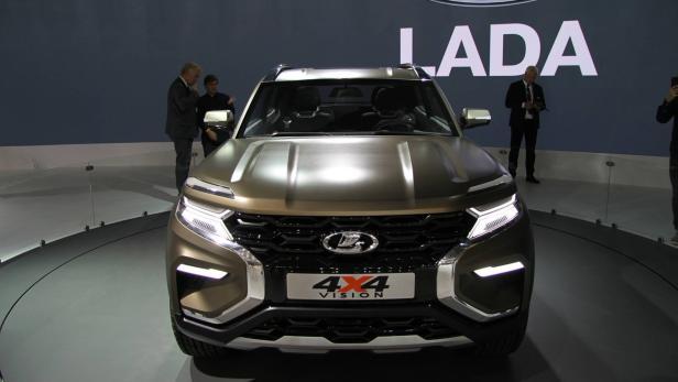 Prasentation In Moskau Ist Das Der Neue Lada 4x4 Niva Motor At