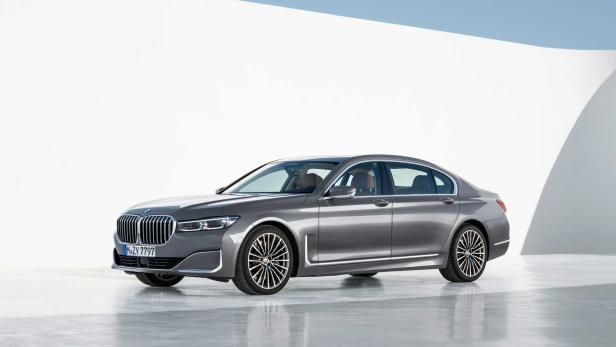 bmw 7er 2019 facelift mit mega niere. Black Bedroom Furniture Sets. Home Design Ideas