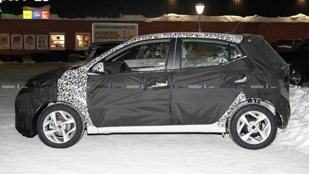 Hyundai i10 (2020) als Erlkönig erwischt | motor.at