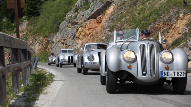 Ennstal-Classic: Auf die 225 Teilnehmer warten 900 anstrengende Kilometer.