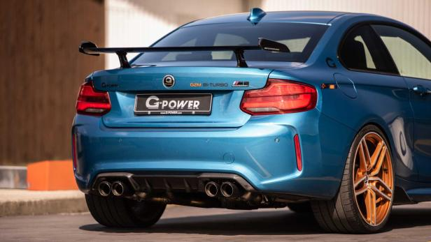 G Power M2 Competition Fett Aufgepumpt Motorat