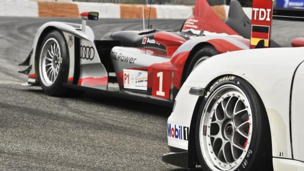 Michelin arbeitet bei der Reifenentwicklung auch mit Porsche zusammen.