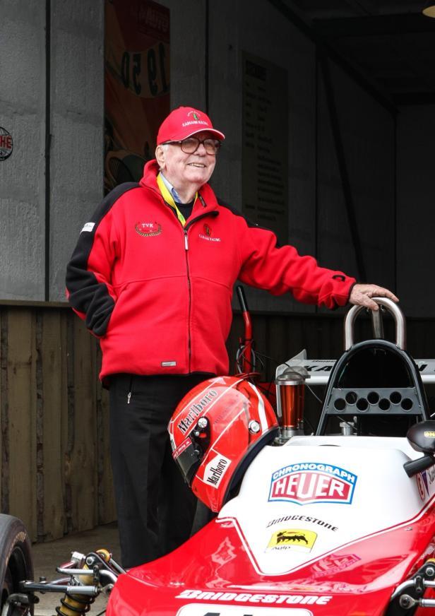 Auch im hohen Alter noch aktiv und vital: Kurt Bergmann (85).