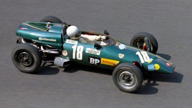Frühzeit eines Champions – Lauda auf Kaimann beim Formel-V-Rennen auf dem Nürburgring im Jahr 1969.