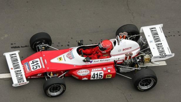 Karl Holzinger: Fährt mit einem restaurierten Kaimann-Super-V die Meisterschaft für historische Rennfahrzeuge.