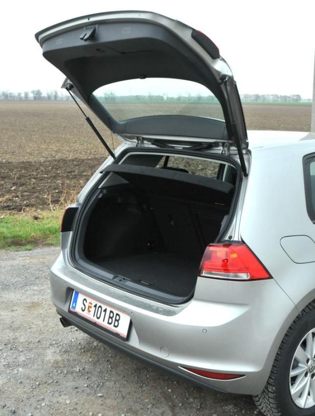 Mehr Kofferraum als beim Vorgänger
