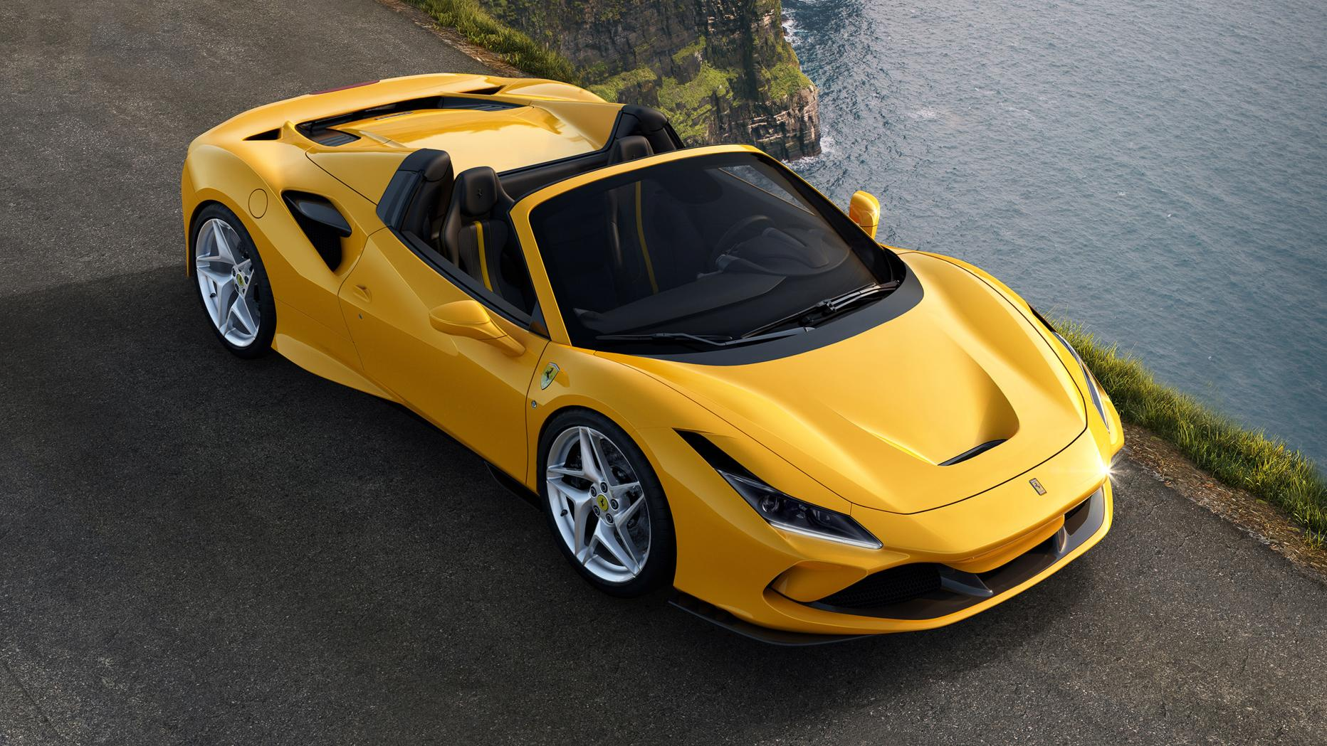 Ferrari F8 Spider Ferrari öffnet Den Tributo Motor At
