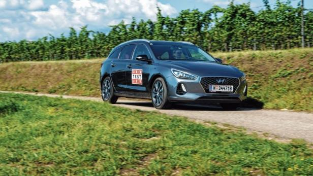 Hyundai I30 Kombi Im Test Die Golfklasse Verdichtet Sich Motorat