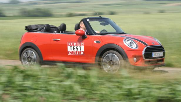 Der Mini Als Cooper Cabrio Im Test Motorat