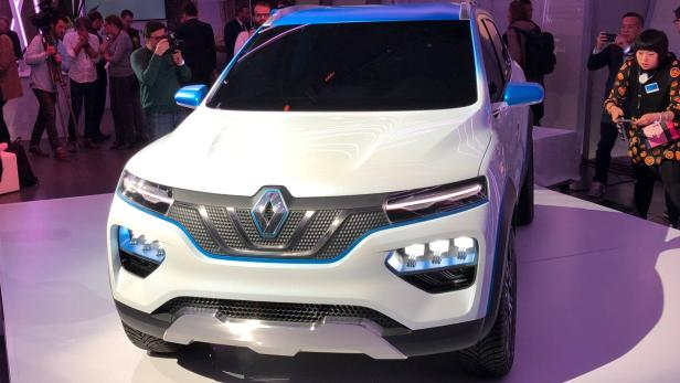 Autosalon Paris: Renault zeigt Elektro-SUV namens KZ-E ...
