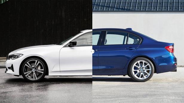 Bmw 3er Limousine Alt Und Neu Im Vergleich Motorat