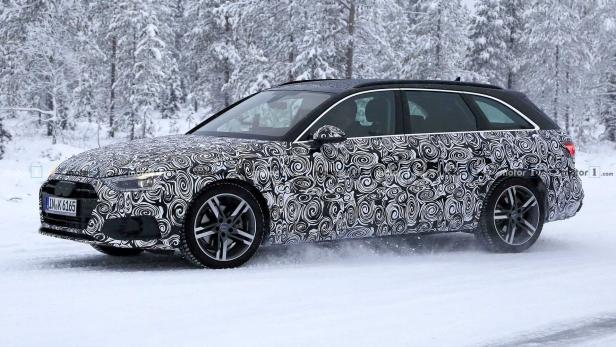 Audi A4 Avant 2019 Erster Erlkonig Versteckt Xxl Facelift Motor At