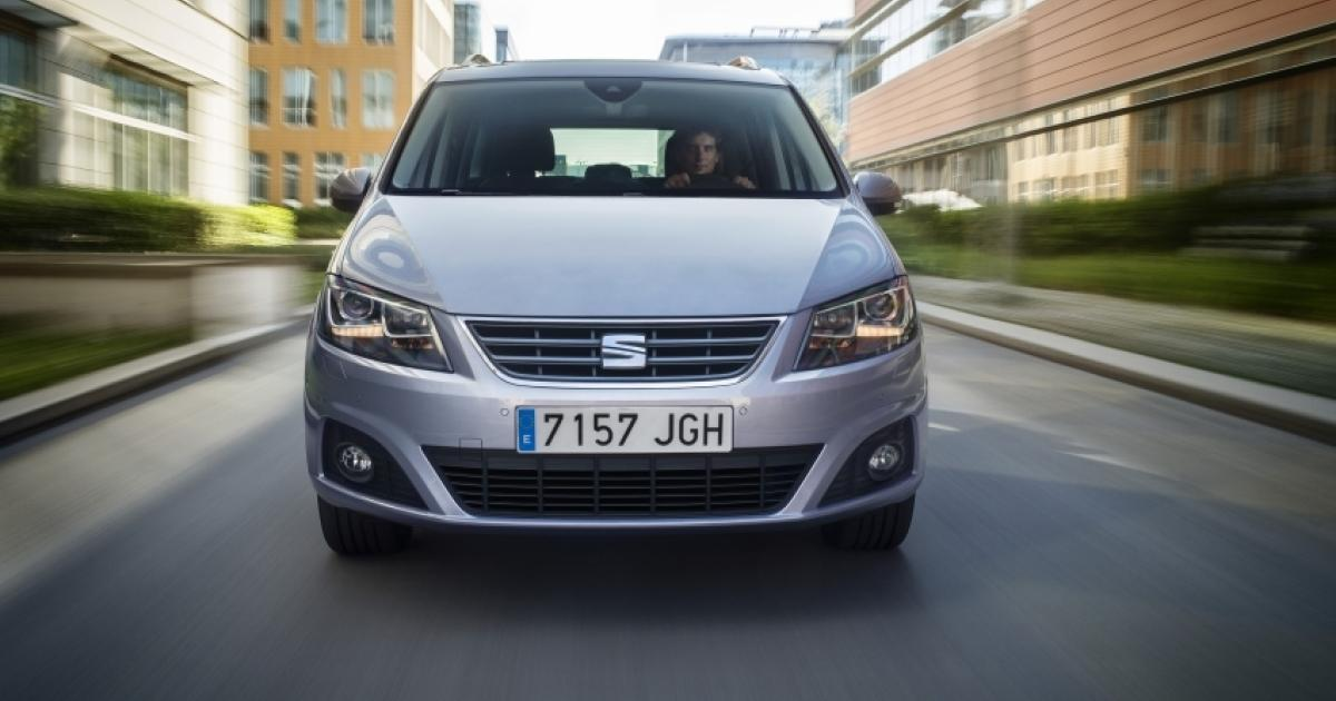 seat alhambra verbessert in die zweite etappe. Black Bedroom Furniture Sets. Home Design Ideas