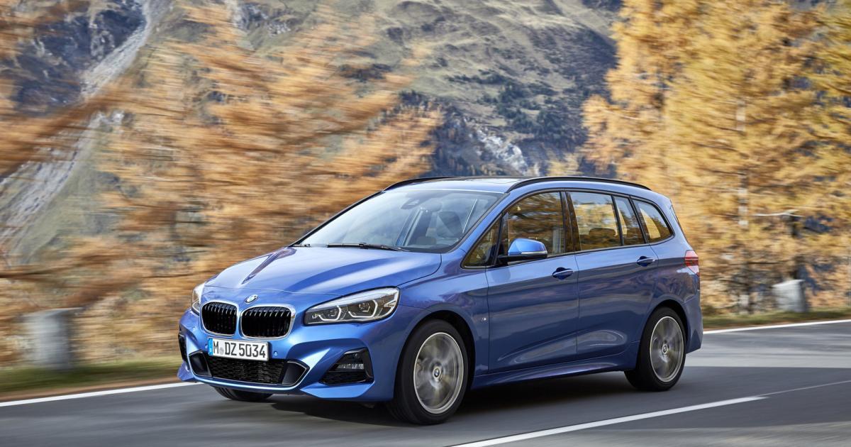 BMW-218i-Gran-Tourer-Transporte-mit-drei-Zylindern