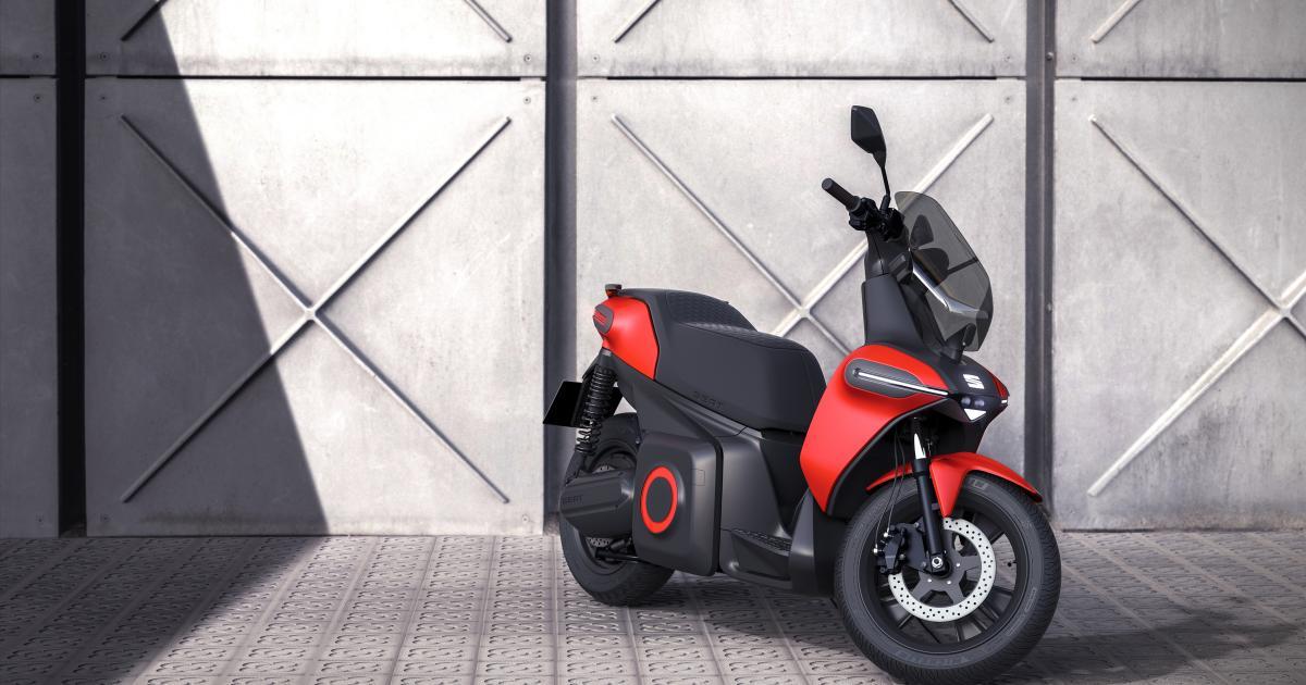 Seat präsentiert seinen ersten Elektro-Roller