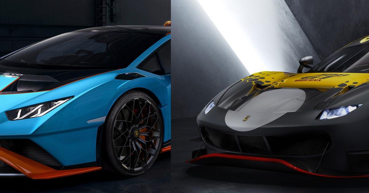 Ferrari-488-GT-Modificata-Lamborghini-Huracan-STO-Neue-Wilde-aus-Italien