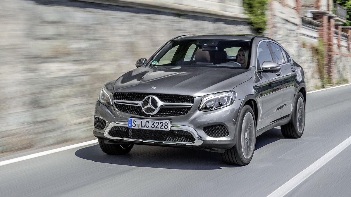 Mercedes Benz Gle Ladevolumen