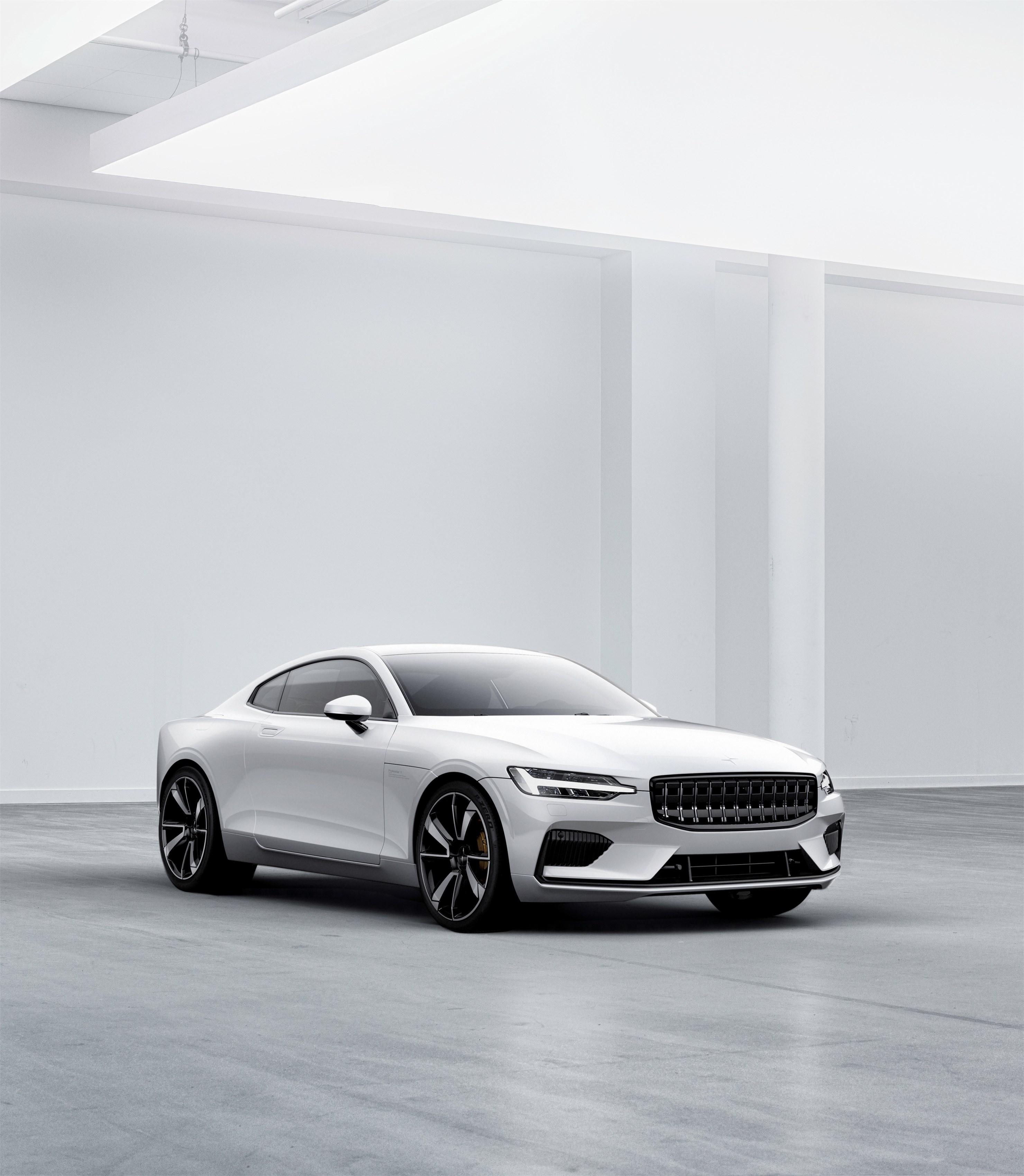 Konkurrenz für Tesla? Volvo Polestar 1