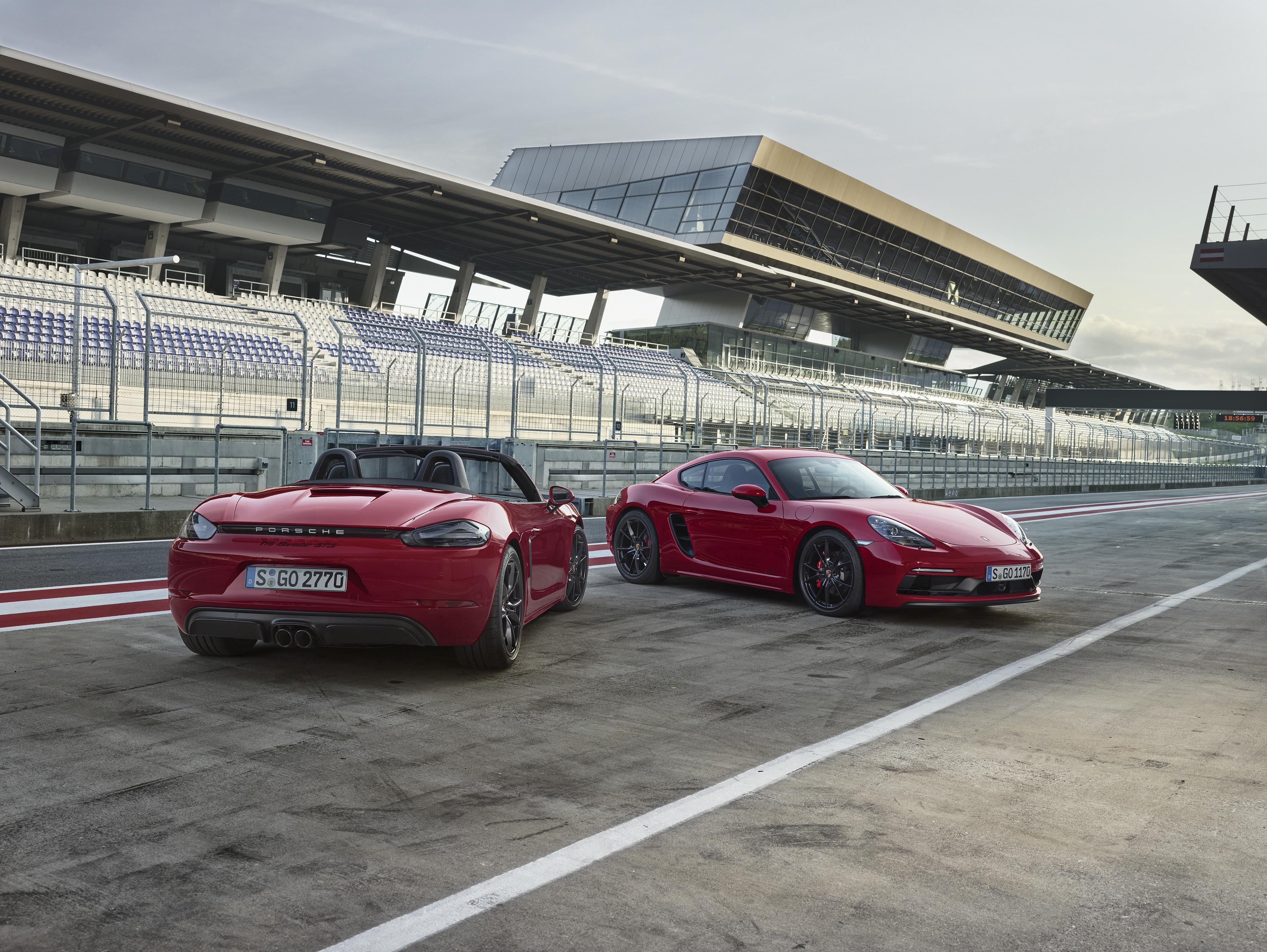 Porsche: 718 Boxster und Cayman nun auch als GTS