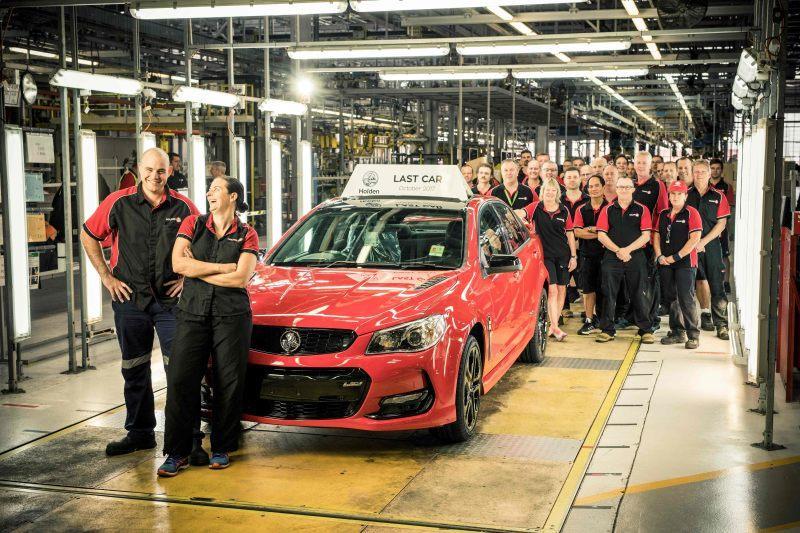 Letztes Auto aus australischer Produktion vom Band gelaufen