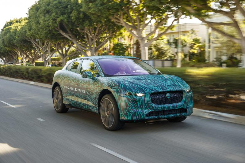 Jaguar I-Pace: Unterwegs im Briten aus Graz