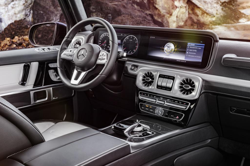 Neue Mercedes G-Klasse: So sieht sie innen aus