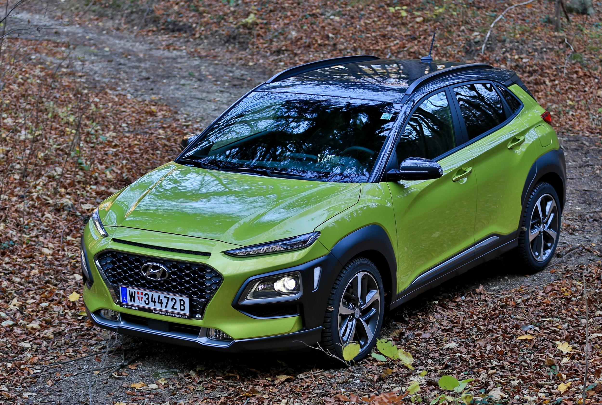der neue hyundai kona im kurier test. Black Bedroom Furniture Sets. Home Design Ideas