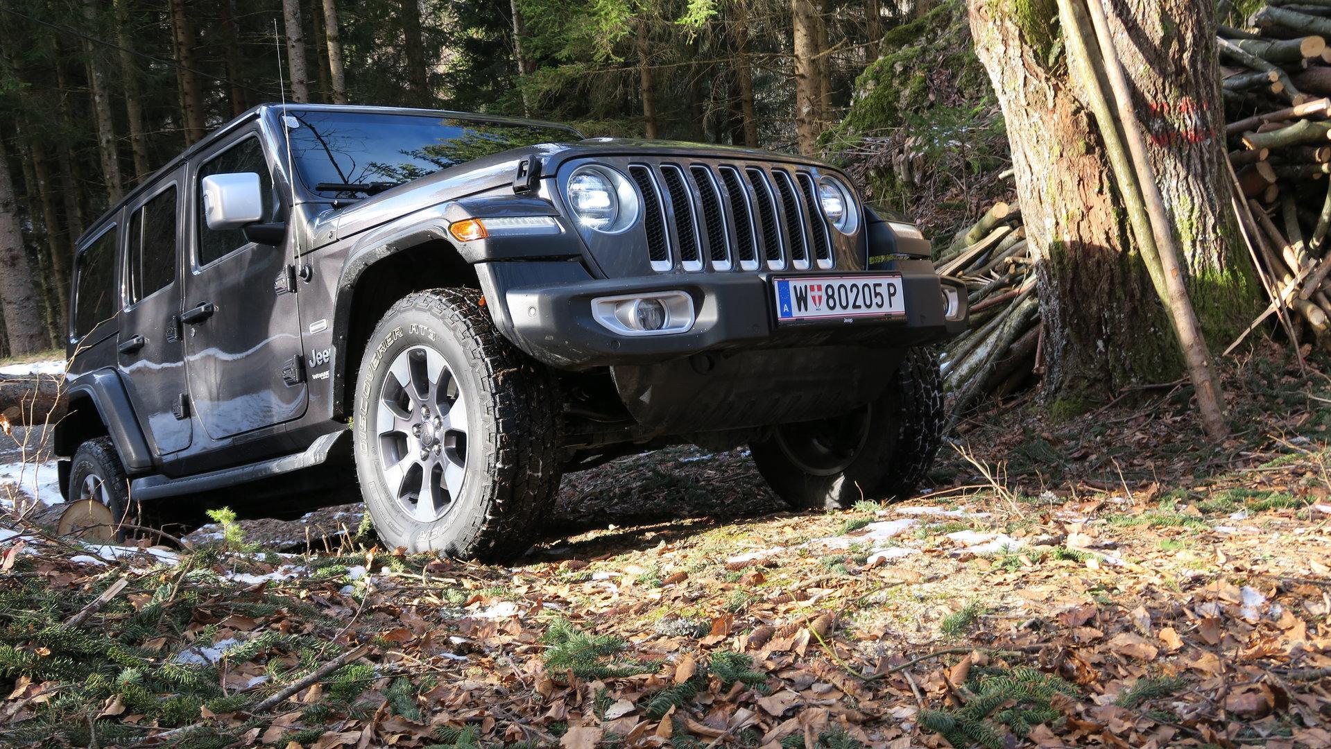 Jeep Wrangler Unlimited im Test: Moderner Geländewagen im besten Sinn