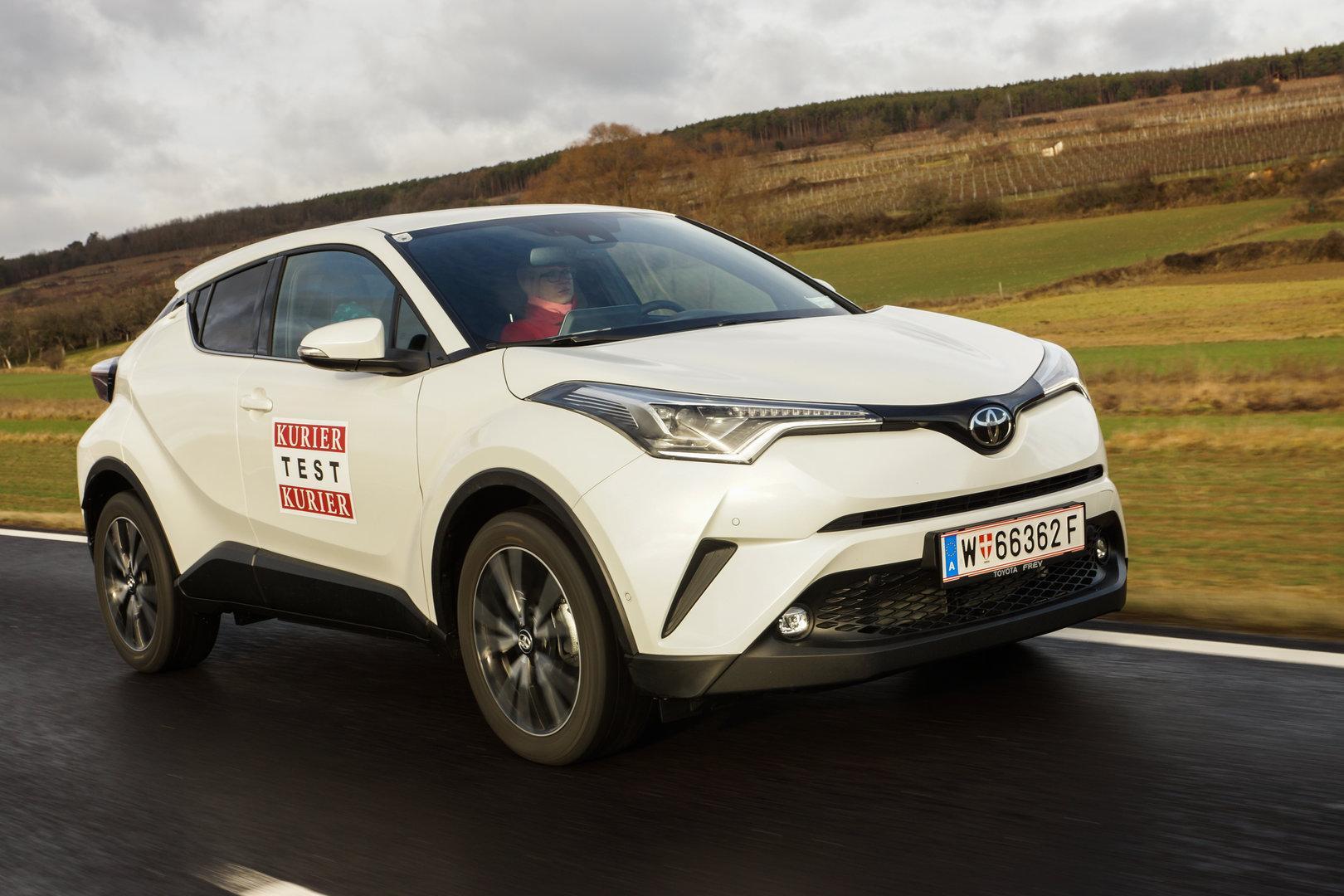 Toyota C-HR: Start zum Dauertest mit dem Turbobenziner