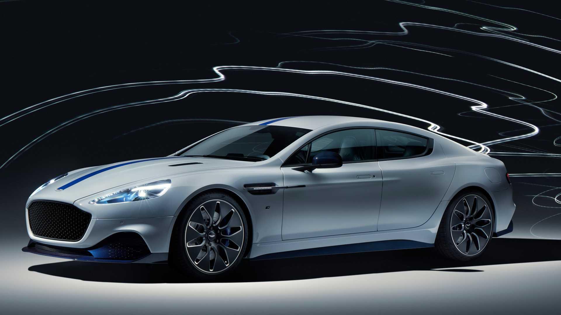 Aston Martin Rapide E: Elektro-Sportler mit 800-Volt-Akku