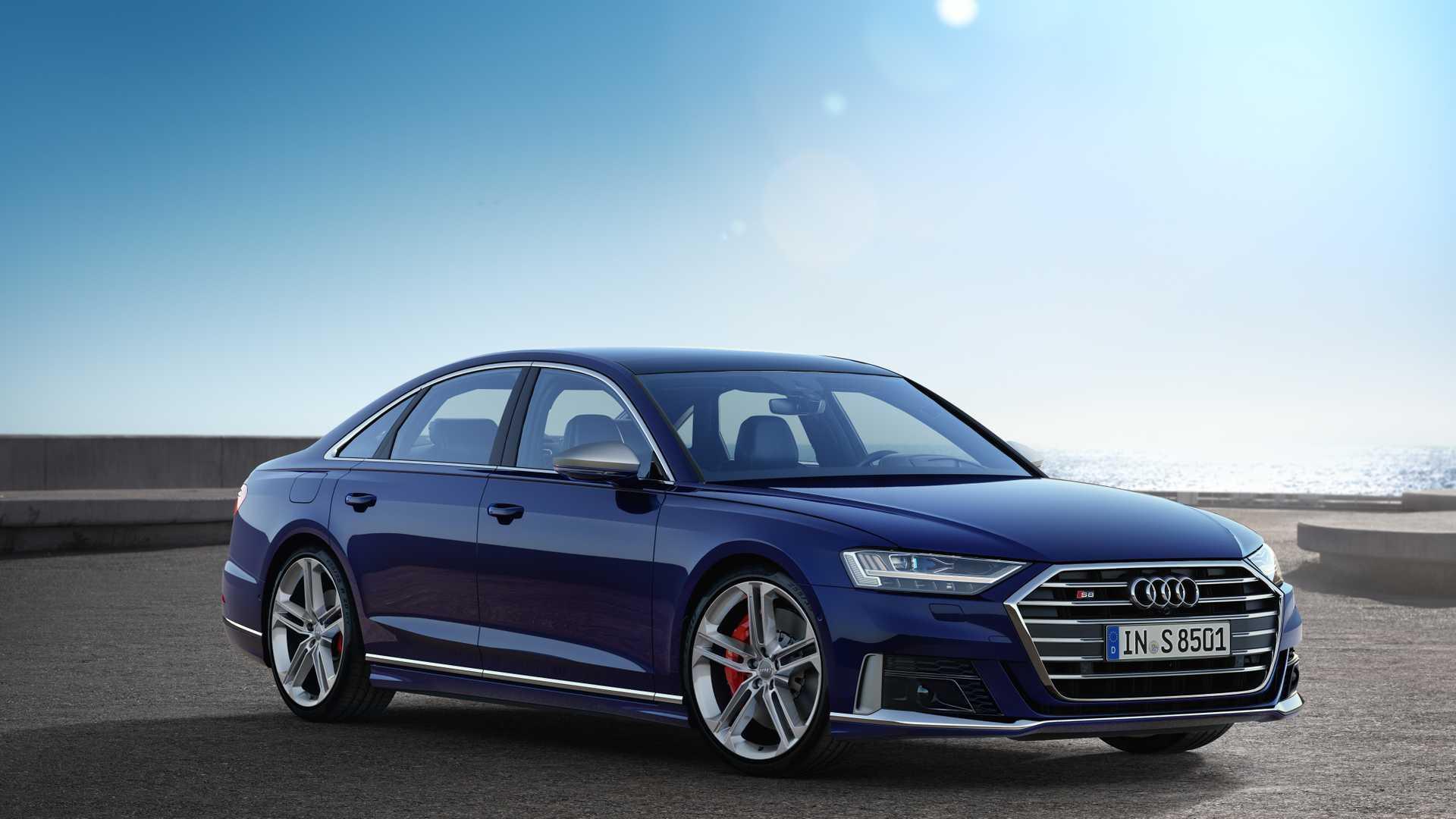 Neuer Audi S8: Hightech-Limousine mit V8-Benziner